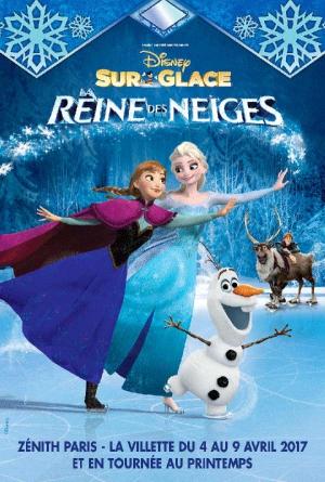 Disney sur glace reine des neiges z nith de nantes atlantis saint herblain 44800 sortir - Date des saint de glace 2017 ...