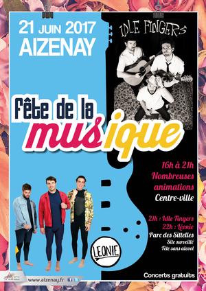F te de la musique aizenay centre ville et parc de sittelies aizenay 85190 sortir - Fete de la musique 2017 date ...