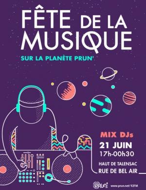 La Planete Prun Celebre L Arrivee De L Ete En Musique Fete De La Musique 2017 Rue De Bel Air Haut De Talensac Nantes 44000 Sortir A Nantes Le Parisien Etudiant