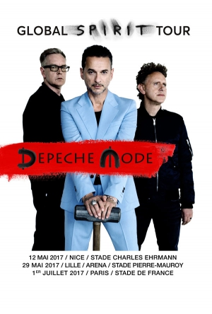 DEPECHE MODE:BUS LE MANS+PELOUSE OR - STADE DE FRANCE