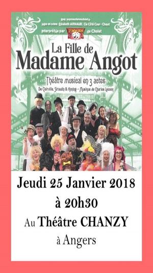 La fille de madame angot theatre chanzy angers 49000 - Cote cour cholet ...