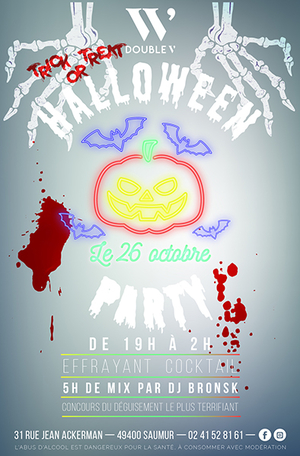 Halloween Party au Double V