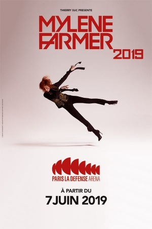 MYLENE FARMER BUS LEMANS + FOSSE OR - PARIS DEFENSE ARENA