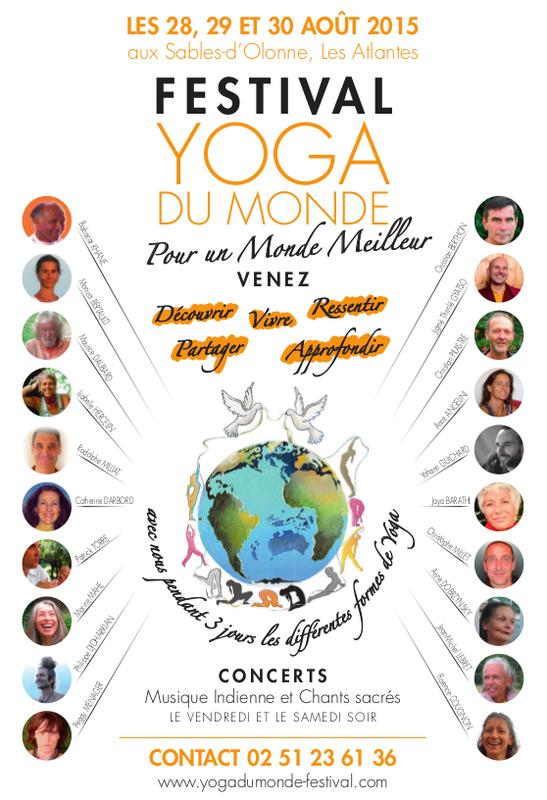 festival yoga du monde centre de congres les atlantes. Black Bedroom Furniture Sets. Home Design Ideas