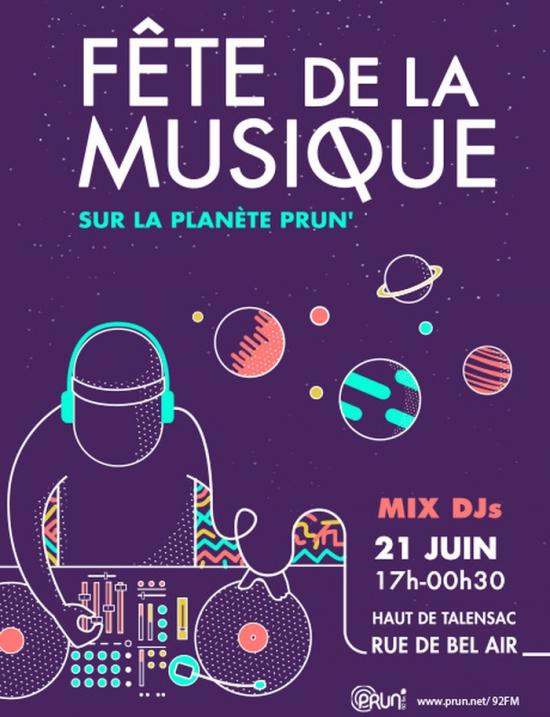 La plan te prun 39 c l bre l arriv e de l t en musique f te de la musique 2017 rue de bel - Fete de la musique 2017 date ...