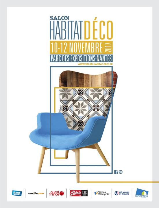 Salon habitat deco 2017 parc des expositions de la - Salon etudiant nantes ...