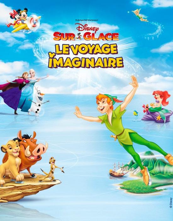 Disney sur glace le voyage imaginaire z nith de nantes - Les sainte glace 2017 ...