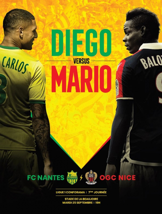 FC NANTES / OGC NICE - LIGUE 1 CONFORAMA - 7EME JOURNEE