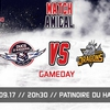 affiche MATCH HOCKEY - Les Ducs d'Angers contre les Dragons de Rouen. 3e match amical