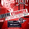 affiche LES DUCS D'ANGERS - Offre étudiante, matchs de hockey à prix réduits !