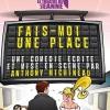 affiche FAIS-MOI UNE PLACE