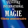 affiche FESTIVAL INTERNATIONAL DE MAGIE - D'ANGERS