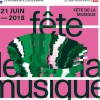 affiche Los Percutos, The Crok'Notes, Electrical Wood - Fête de la Musique 2018