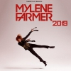 affiche MYLENE FARMER BUS NANTES + FOSSE OR - PARIS DEFENSE ARENA