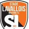 affiche STADE LAVALLOIS / AVRANCHES - CHAMPIONNAT FOOTBALL NATIONAL